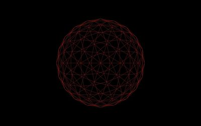 Polygon sphere [2] wallpaper