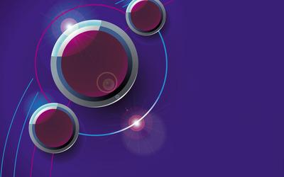 Purple buttons wallpaper