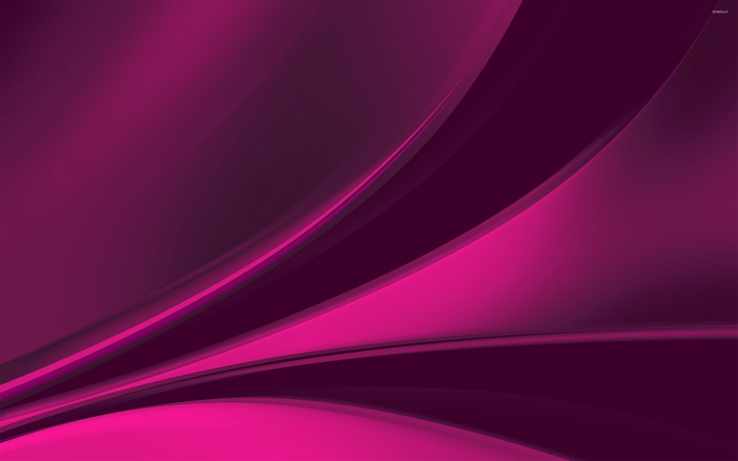 Abstract Purple Background Cloth Or Liquid Wave Illustration ...