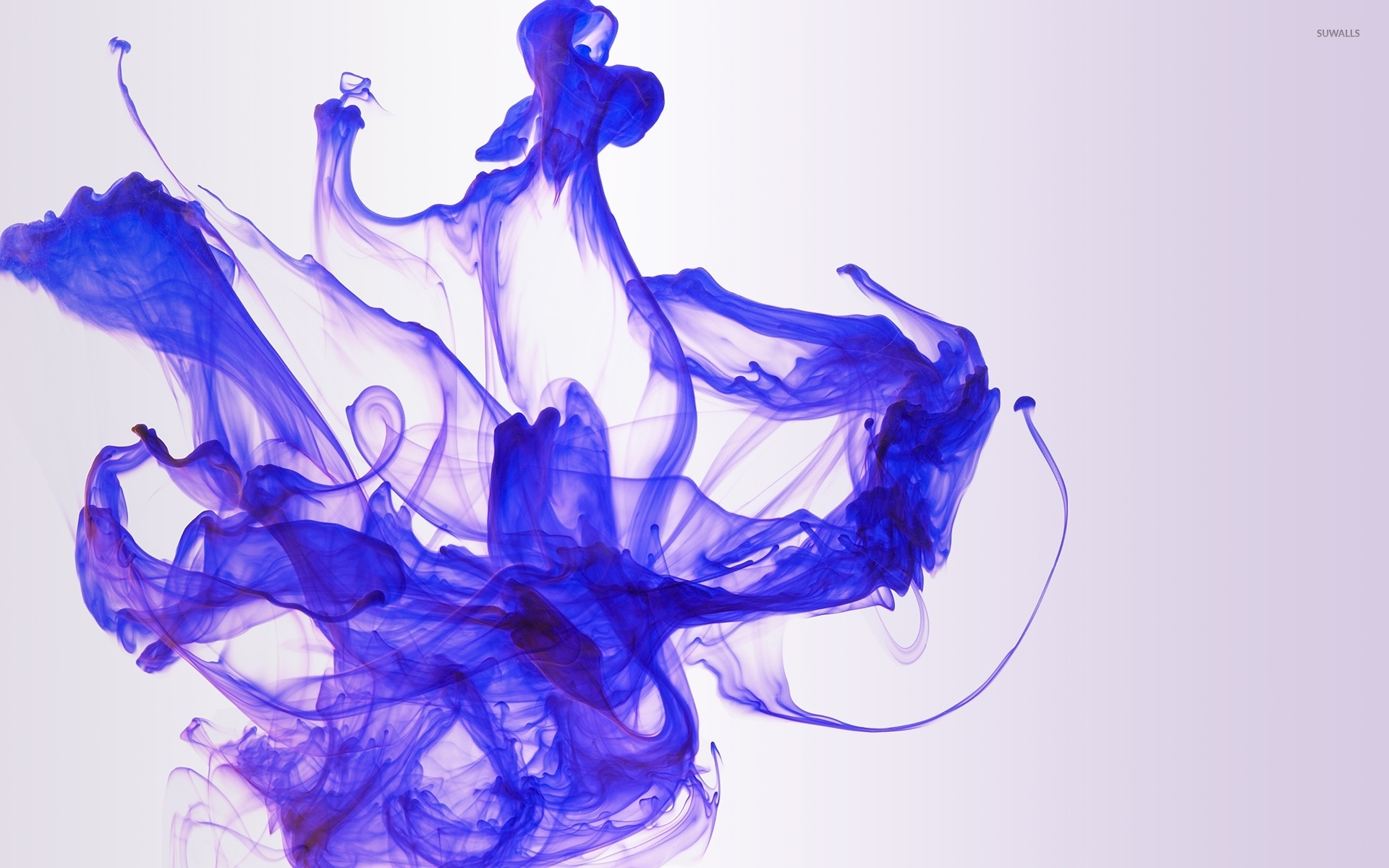 Violet Smoke Art Wallpapers: Purple Smoke Art Wallpaper