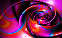 Purple swirls wallpaper 2560x1600 jpg