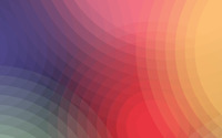 Rainbow colored circles wallpaper 2880x1800 jpg