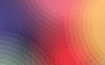 Rainbow colored circles wallpaper