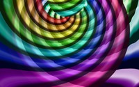 Rainbow colored spirals wallpaper 2880x1800 jpg
