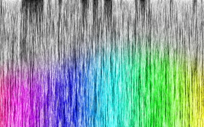 Rainbow fibers wallpaper