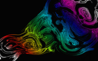 Rainbow liquid wallpaper 2560x1600 jpg
