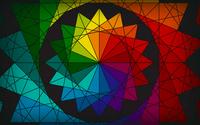Rainbow star wallpaper 1920x1200 jpg