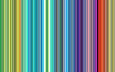 Rainbow stripes falling down wallpaper