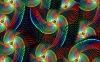 Rainbow swirls wallpaper 1920x1200 jpg