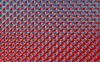 Red and blue hypnotic shapes wallpaper 1920x1080 jpg