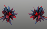 Red and blue thorns wallpaper 1920x1080 jpg