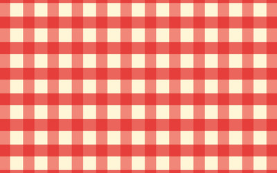 Red and white tablecloth wallpaper