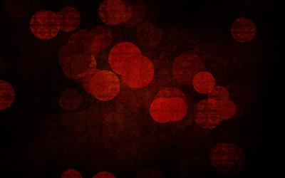 Red circles Wallpaper