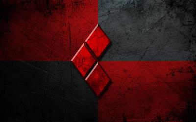 Red diamonds wallpaper