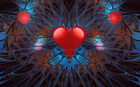 Red heart wallpaper 1920x1080 jpg