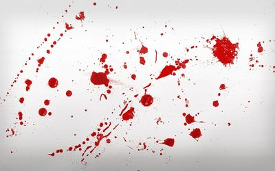 Red paint splatter wallpaper