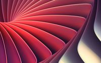 Red shapes completing a swirl wallpaper 2880x1800 jpg