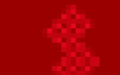 Red squares [3] wallpaper