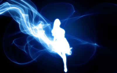 Smoke Fairy wallpaper