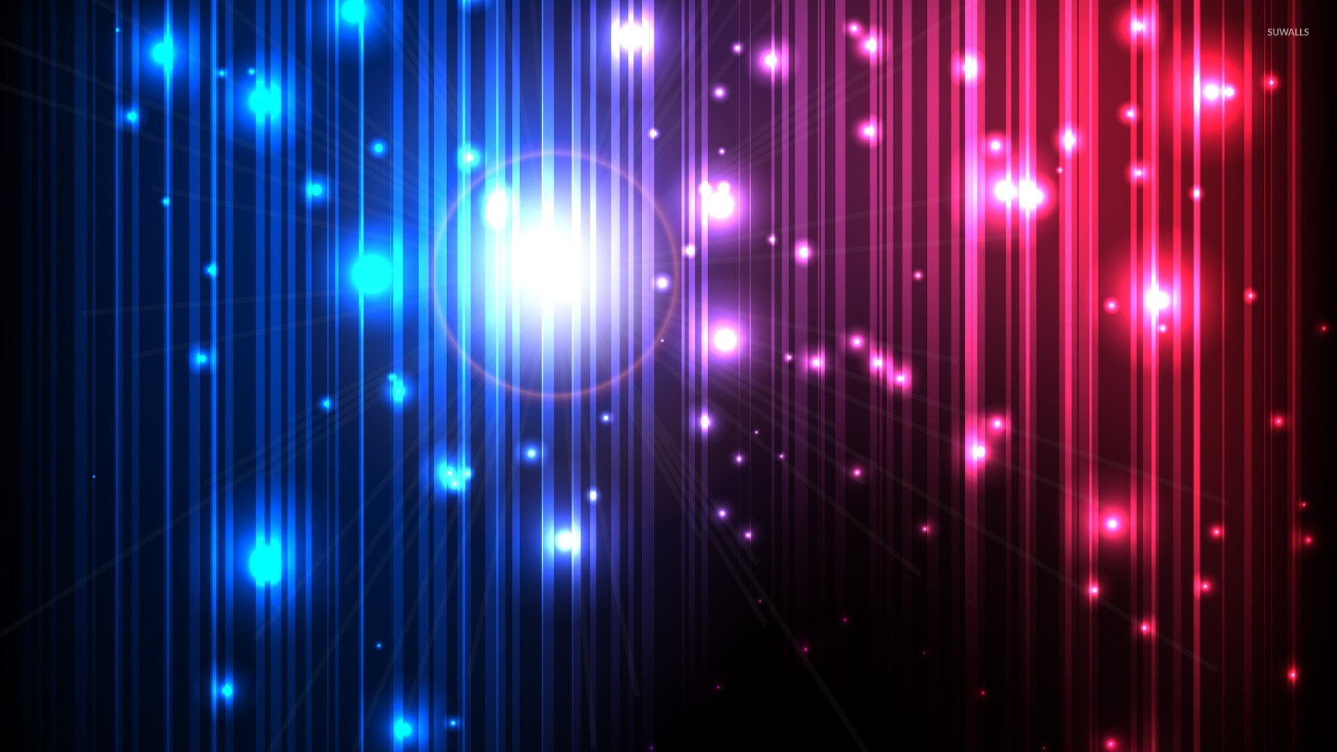 Sparkles On Glowing Lines Wallpaper Abstract Wallpapers 20254