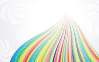 Sparkling rainbow wallpaper 2880x1800 jpg
