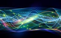 Sparkling waves wallpaper 2880x1800 jpg