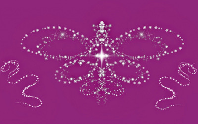 Sparkly butterfly wallpaper