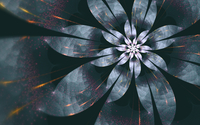 Sparkly flower wallpaper 1920x1200 jpg