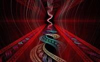 Spiraling fractal wallpaper 1920x1200 jpg