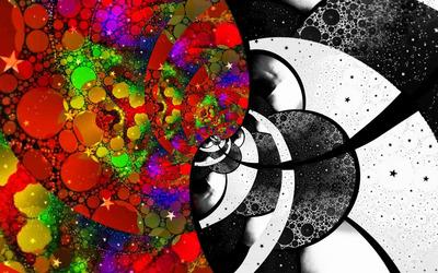 Spirals [29] wallpaper