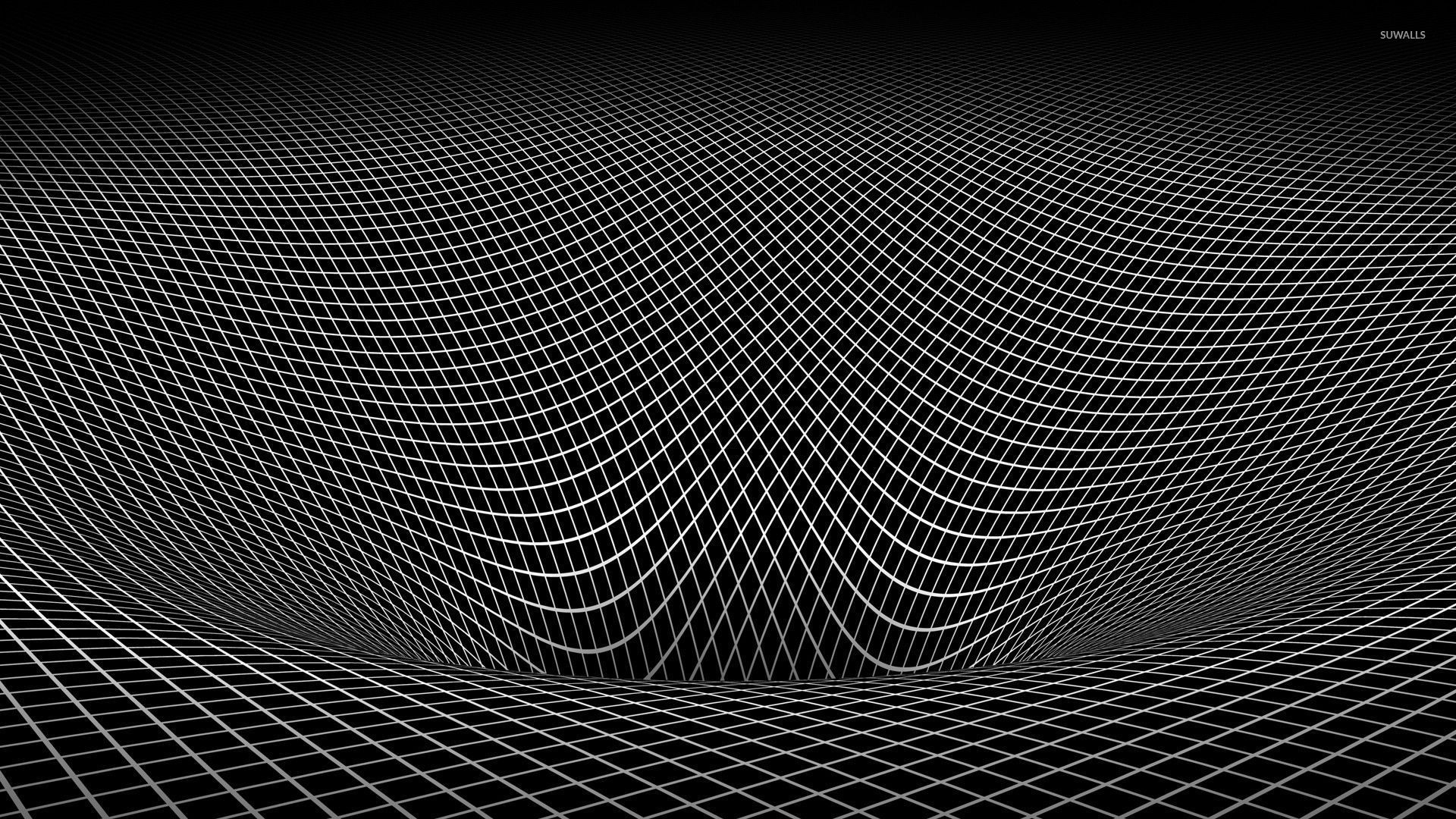 Wallpaper download abyss - Square Pattern Falling Into The Abyss Wallpaper