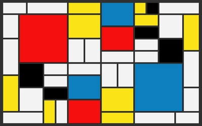 Squares and rectangles wallpaper
