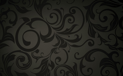 Swirly pattern wallpaper
