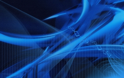 Textured blue curves and lines wallpaper