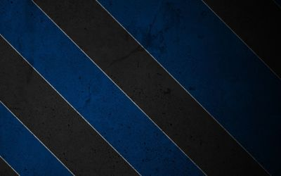 Texturized black and blue stripes wallpaper