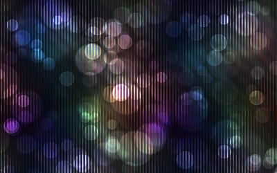 Translucent circles Wallpaper
