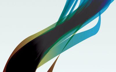 Translucent curves [3] wallpaper