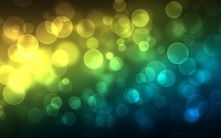 Translucent neon bubbles wallpaper 1920x1080 jpg
