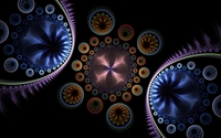Transparent swirls wallpaper 1920x1200 jpg
