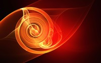 Twirling flame wallpaper 1920x1080 jpg
