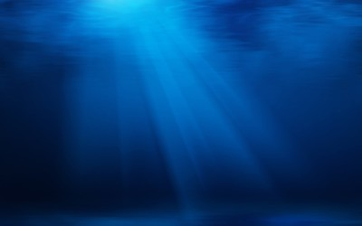 Underwater light wallpaper
