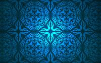 Vintage blue pattern wallpaper 1920x1200 jpg
