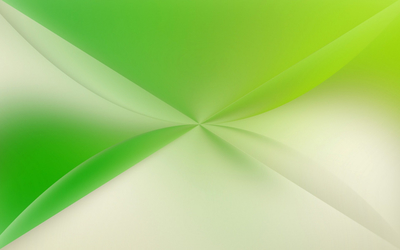 White and green shapes wallpaper