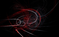 White and red bright curves wallpaper 2560x1600 jpg