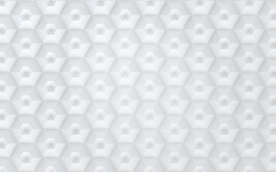 White hexagon pattern wallpaper