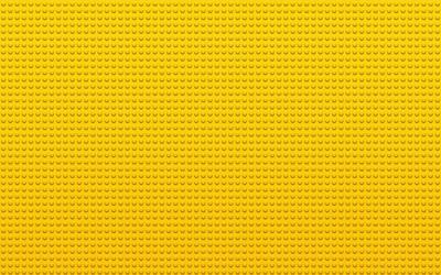 Yellow Lego wallpaper
