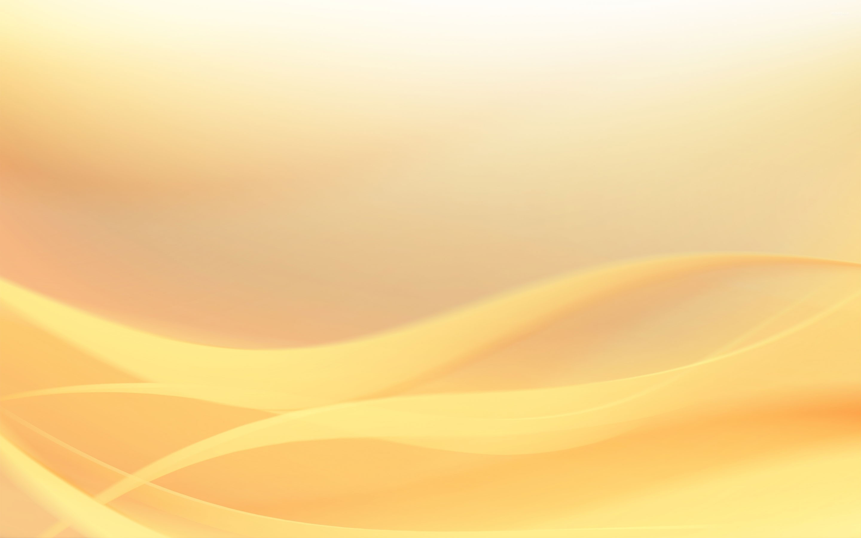 Yellow waves wallpaper - Abstract wallpapers - #23845