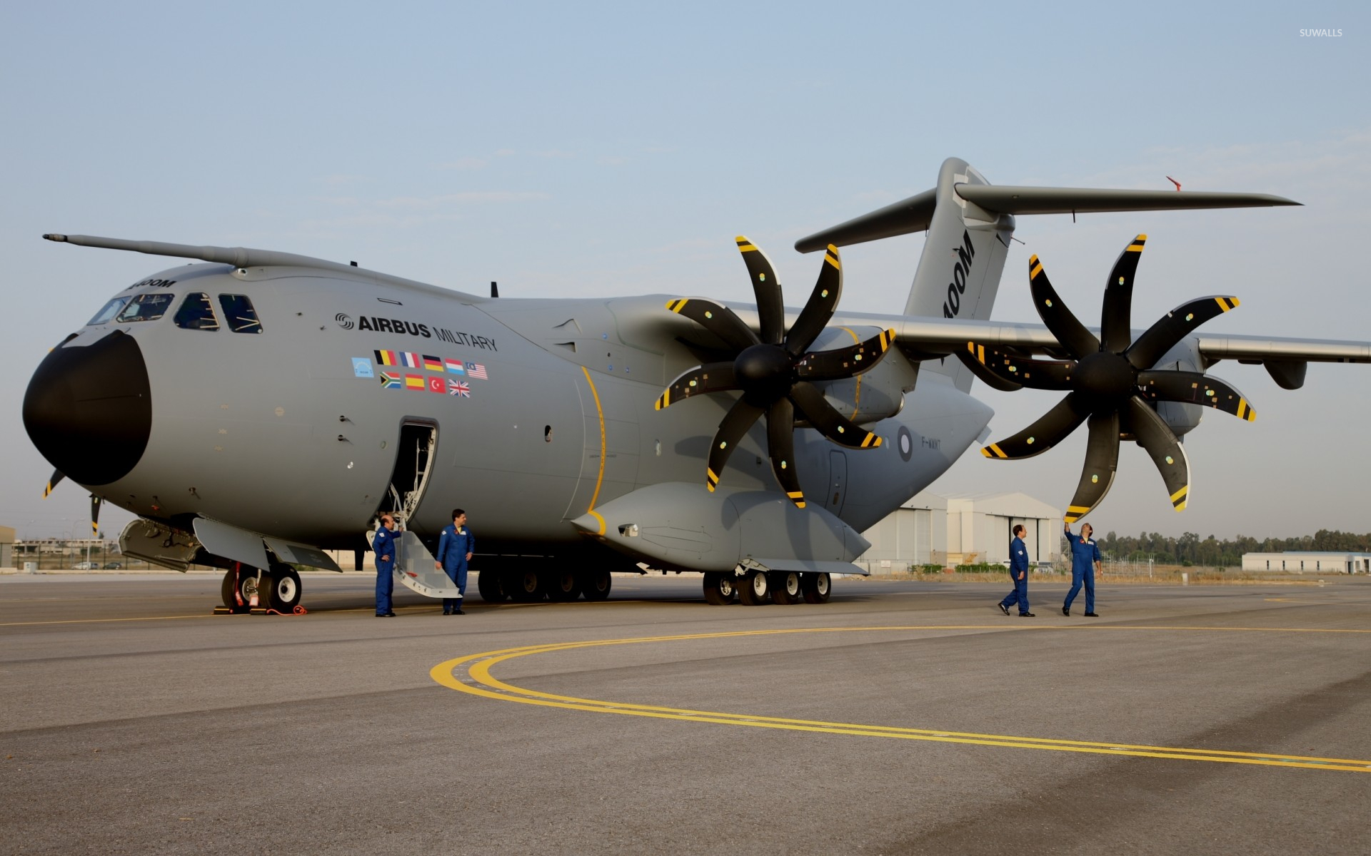 Airbus A400M Atlas Wallpaper  Aircraft Wallpapers 38783