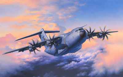 Airbus A400M Atlas [2] wallpaper