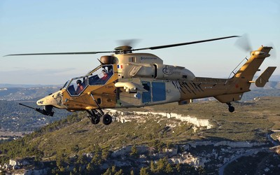 Airbus Helicopters Tiger side view wallpaper